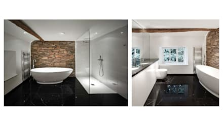 House 141: minimalistic Bathroom by Andrew Wallace Architects