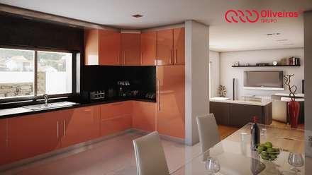 1121-MP-1209: Cozinhas modernas por Oliveiros Grupo