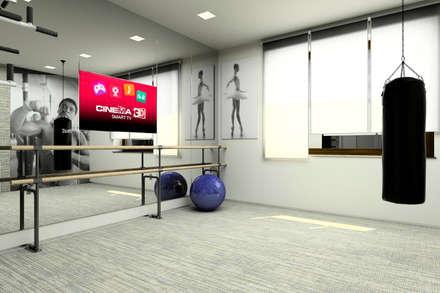 FOREST PROJECT: Тренажерные комнаты в . Автор – Polka architecture studio