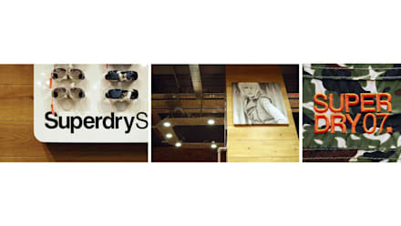 Superdry:  Offices & stores by Andrew Wallace Architects