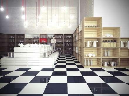 FABRIKA: Торговые центры в . Автор – Polka architecture studio