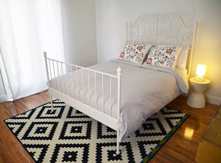 غرفة نوم تنفيذ Erika Winters Design