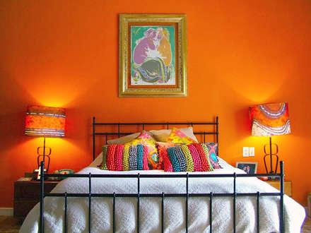 Contadero Decor: Recámaras de estilo moderno por Erika Winters Design