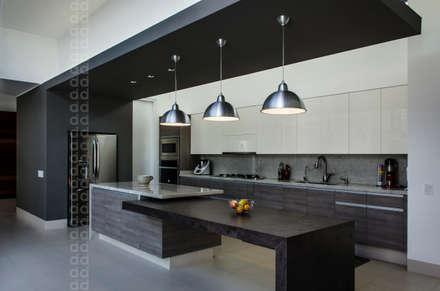 casa agr cocinas de estilo moderno por adi y diseo interior