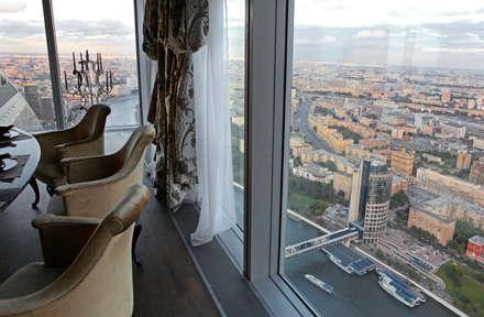 Вид из окна: Окна в . Автор – Архитектурное бюро 'Дом-А'