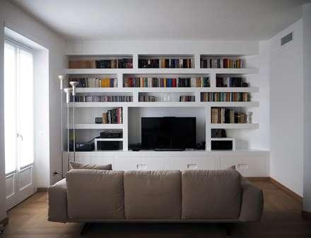 idee arredamento soggiorno moderno. idee soggiorno con camino ... - Soggiorno Moderno
