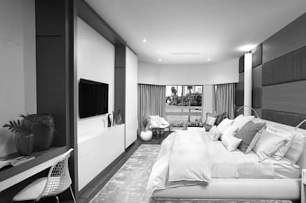 House Interiors: asian Bedroom by Innovate Interiors & Fabricators