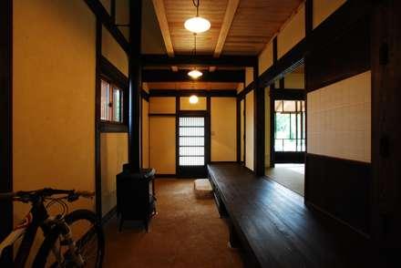 京建具の家: SSD建築士事務所株式会社が手掛けた玄関/廊下/階段です。