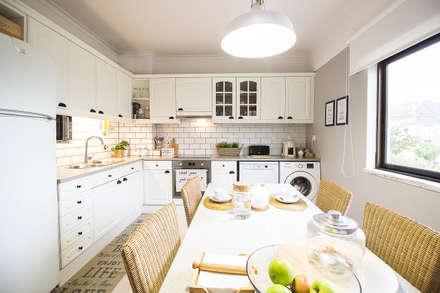 Cozinhas escandinavas por homify