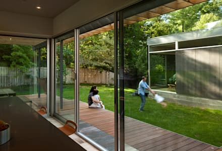 Casa Abierta: modern Kitchen by KUBE Architecture