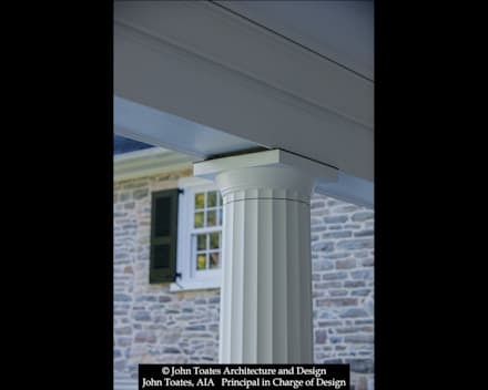 Column Detail:  Patios & Decks by John Toates Architecture and Design