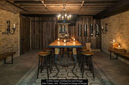 klasieke Wijnkelder door John Toates Architecture and Design