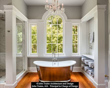 Master Bathroom: classic Bathroom by John Toates Architecture and Design