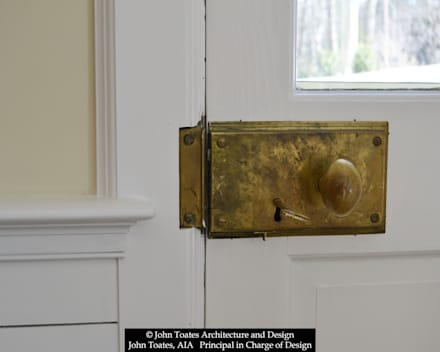 Door Hardware:  Windows by John Toates Architecture and Design