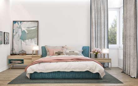 scandinavian Bedroom by PRIVALOV design
