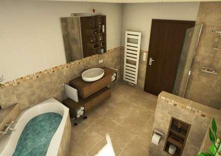 Mediterranes Badezimmer mediterrane badezimmer einrichtungsideen und bilder homify