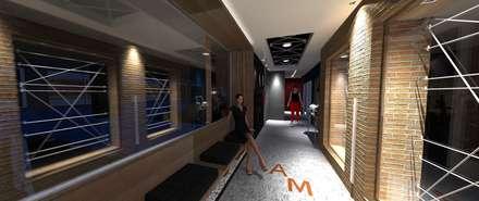 صالة الرياضة تنفيذ Lucio Nocito Arquitetura e Design de Interiores