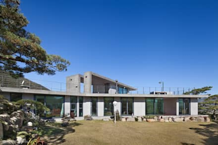 Y-HOUSE: ON ARCHITECTURE INC.의  정원