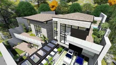 Proyecto Casa Querales Californiana 07: Casas de estilo  por Arquitectura Creativa