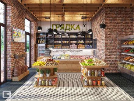 Oficinas y Tiendas de estilo  por Giovani Design Studio