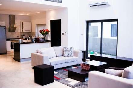 Contemporary, modern minimalist design open plan kitchen made by Schmidt Barnet: minimalistic Kitchen by Schmidt Kitchens Barnet