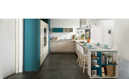 Ideal kitchen for family of 4: modern Kitchen by Schmidt Kitchens Barnet