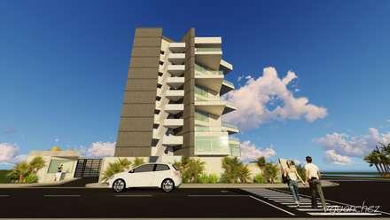 """Conjunto de Apartamentos """"Puerto Plata"""": Closets de estilo moderno por Grupo JOV Arquitectos"""