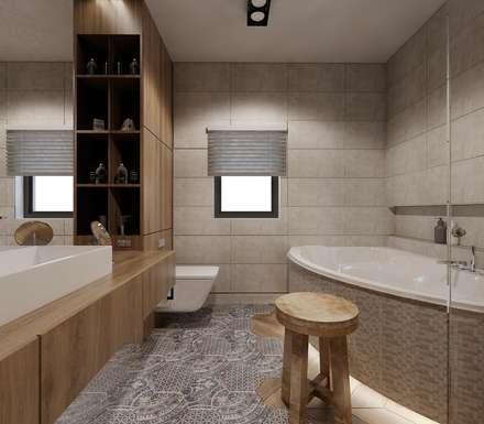 Łazienka charytatywnie : styl , w kategorii Łazienka zaprojektowany przez Ale design Grzegorz Grzywacz