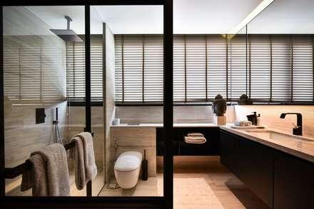 Ng邸: Sen's Photographyたてもの写真工房すえひろが手掛けた浴室です。
