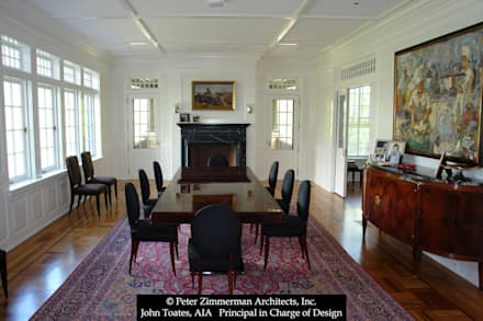 New House - Wayne, PA: classic Dining room by John Toates Architecture and Design