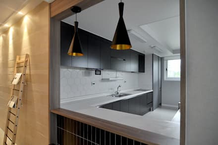 modern Kitchen by JMdesign