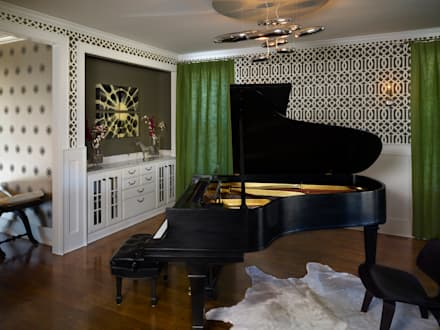 Cherry Creek Home: eclectic Conservatory by Andrea Schumacher Interiors