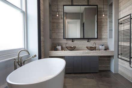 Bathroom - Belsize Park: modern Bathroom by Roselind Wilson Design