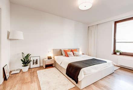 Clean Look: styl , w kategorii Sypialnia zaprojektowany przez Perfect Space