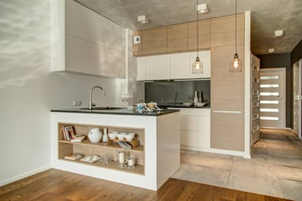 Cocinas de estilo minimalista por Perfect Space