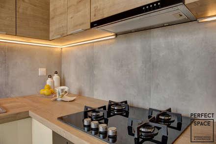 Cocinas de estilo moderno por Perfect Space