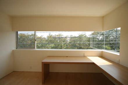 書斎: Atelier Squareが手掛けた書斎です。