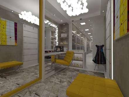 Casa PC - Barra da Tijuca: Closets modernos por Marcos Soares Arquitetura