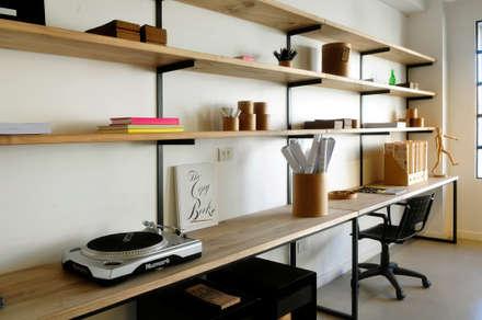 مكتب عمل أو دراسة تنفيذ Paula Herrero | Arquitectura