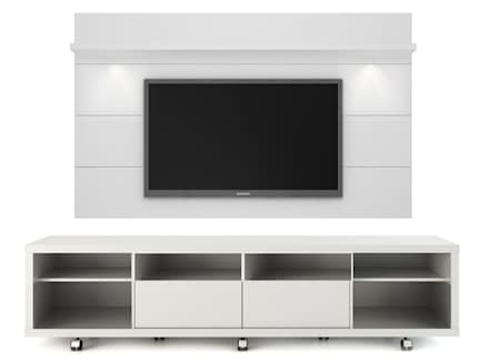 MODELO 9A  - MUEBLE DE PARED HOME THEATER: Salas / recibidores de estilo minimalista por 3 DECO