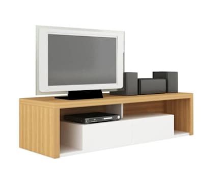 MODELO 8B  - MUEBLE MODULAR -  HOME THEATER: Salas / recibidores de estilo minimalista por 3 DECO