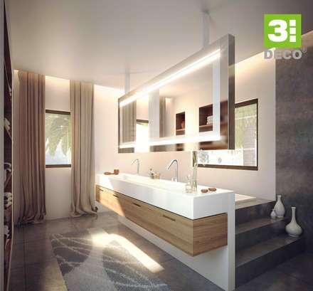 BAÑO CASUARINAS: Baños de estilo minimalista por 3 DECO