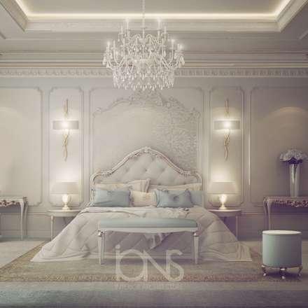 Fresh and Dreamy Bedroom Design: mediterranean Bedroom by IONS DESIGN
