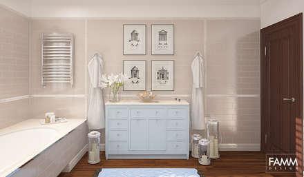 AMERYKAŃSKI LOOK: styl , w kategorii Ogród zaprojektowany przez FAMM DESIGN