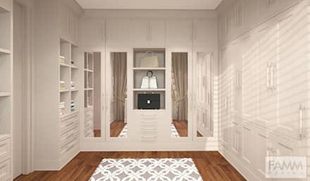 classic Dressing room by FAMM DESIGN