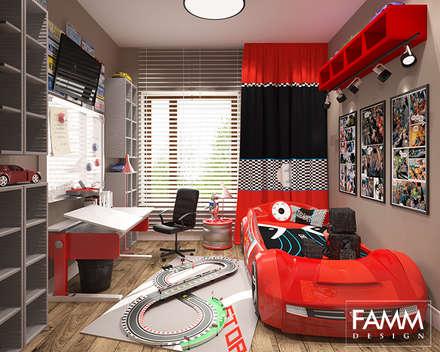 POKÓJ MAŁEGO RAJDOWCA: styl , w kategorii Pokój dziecięcy zaprojektowany przez FAMM DESIGN