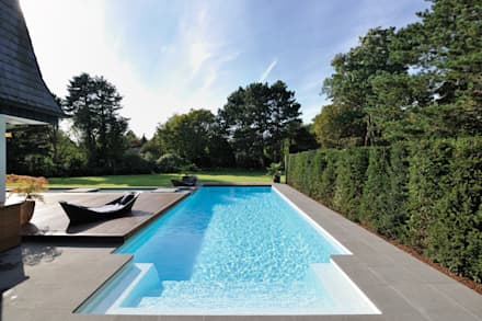 eclectic Pool by Hesselbach GmbH