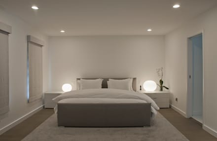 Georgetown Master Bedroom Lighting : modern Bedroom by Hinson Design Group