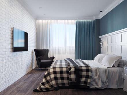 Квартира для аренды: Спальни в . Автор – Оксана Мухина