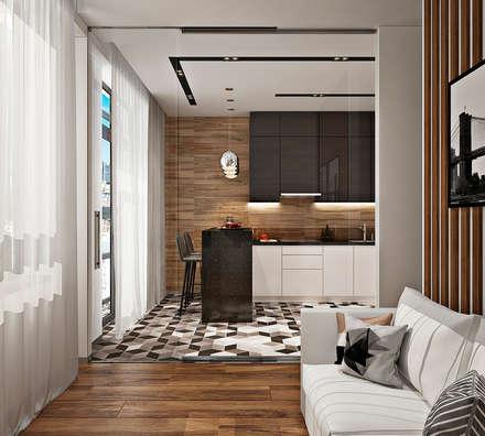 skandinavische k chen ideen inspiration homify. Black Bedroom Furniture Sets. Home Design Ideas
